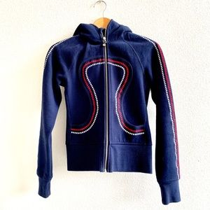 LULULEMON Special Ed. Olympic Scuba hoodie Sz 2